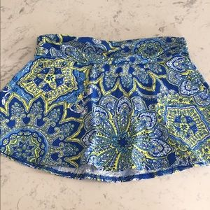 New without tags swim skirt sz s